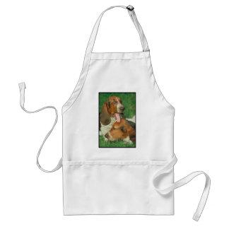 Basset Honden Standaard Schort