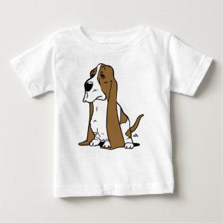 Basset hondencartoon baby t shirts