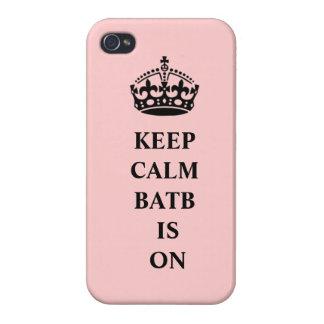BATB houdt Kalm iPhoneHoesje iPhone 4 Hoesje