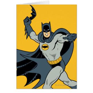 Batman Batarang Wenskaart