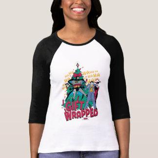 Batman | Batman & Robin Gift Wrapped aan de Boom T Shirt