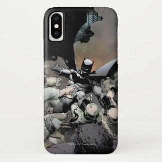 Batman die de Vijanden van de Boog bestrijden iPhone X Hoesje