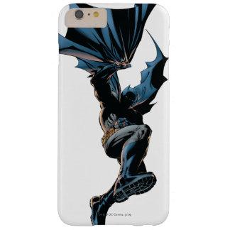 Batman die onderaan het Schot van de Actie Barely There iPhone 6 Plus Hoesje