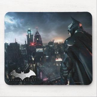 Batman die over Stad kijken Muismatten
