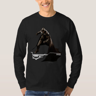 Batman die zich met Kaap bevinden T Shirt