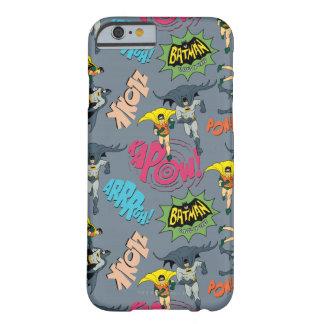 Batman en Robin Action Pattern Barely There iPhone 6 Hoesje