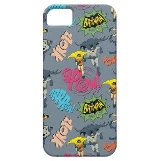 Batman en Robin Action Pattern Barely There iPhone 5 Hoesje