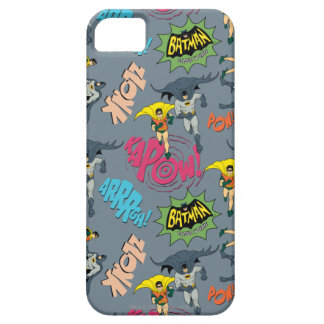 Batman en Robin Action Pattern Case-Mate iPhone 5 Hoesjes