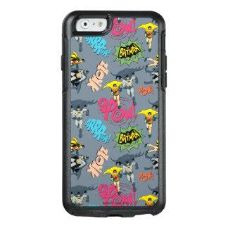 Batman en Robin Action Pattern OtterBox iPhone 6/6s Hoesje