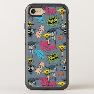 Batman en Robin Action Pattern OtterBox Symmetry iPhone 7 Hoesje