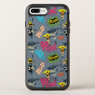 Batman en Robin Action Pattern OtterBox Symmetry iPhone 7 Plus Hoesje