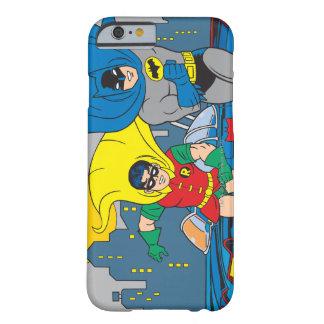 Batman en Robin Running Barely There iPhone 6 Hoesje