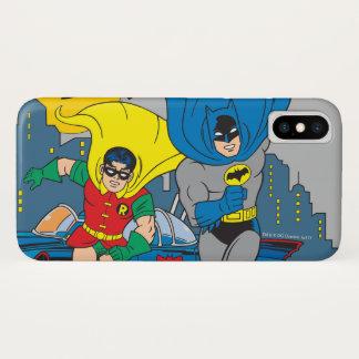 Batman en Robin Running iPhone X Hoesje