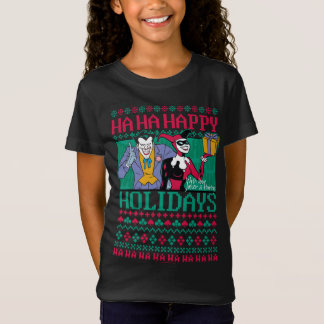 Batman | Gelukkige Joker & Harley Quinn van het T Shirt