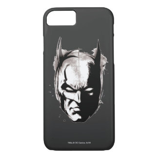 Batman Getrokken Gezicht iPhone 8/7 Hoesje