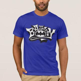 Batman | het Logo van de Naam Graffiti T Shirt