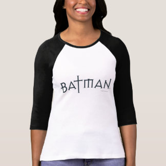 Batman in gestileerde doopvont t shirt