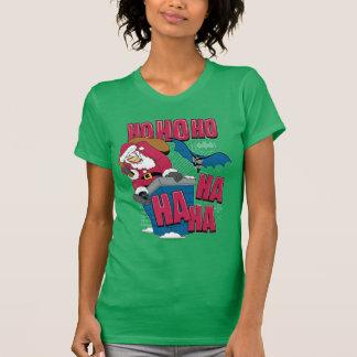 Batman | Joker die de Kerstman uit Schoorsteen T Shirt