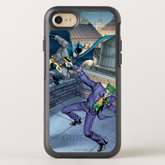 Batman & Joker - Slag OtterBox Symmetry iPhone 7 Hoesje
