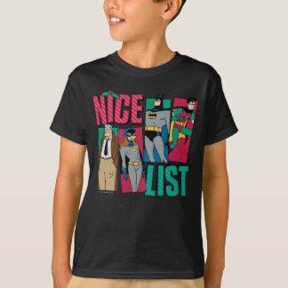 Batman | Lijst van Nice van de Kerstman van Helden T Shirt