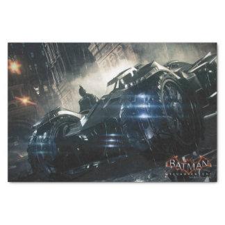 Batman met Batmobile in de Regen Tissuepapier