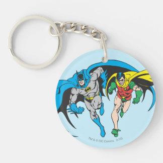 Batman & Robin Sleutelhanger