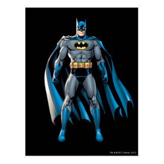 Batman staat op briefkaart