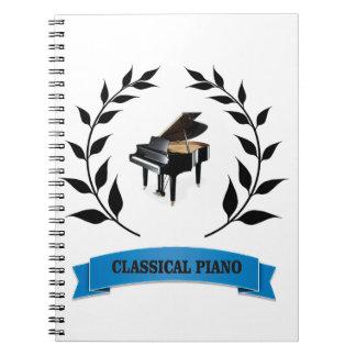BB klassieke piano Notitie Boek