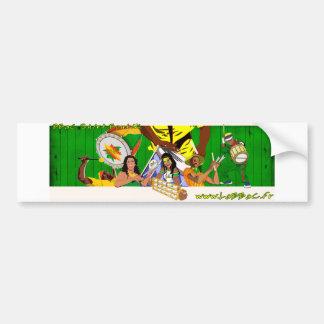 BBaC Stiker Samba Batucada Brasil Bumpersticker