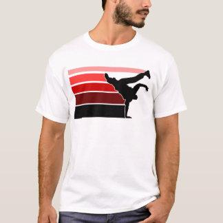 BBOY gradiënt rode blk T Shirt