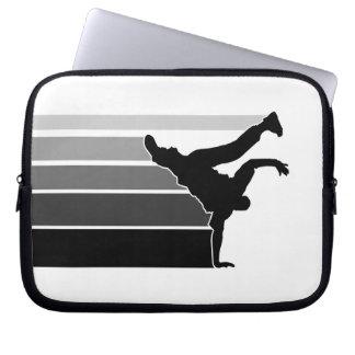 BBOY laptop van gradiënt grijs blk sleeve