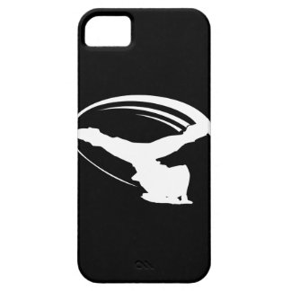 BBOY windmolen wht iphone4 Barely There iPhone 5 Hoesje