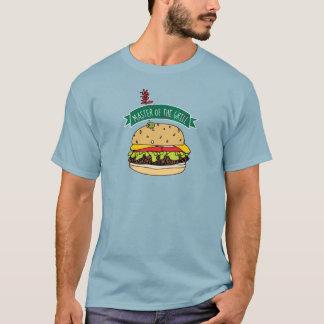 BBQ de Meester van de Hamburger van de Grill T Shirt