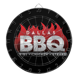 BBQ ProfiledInk van Dallas Dartboard Dartbord