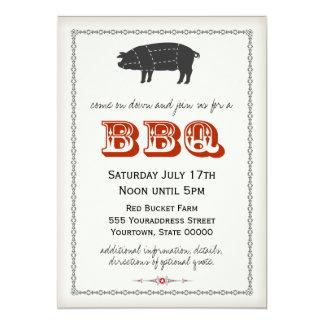 BBQ Uitnodiging