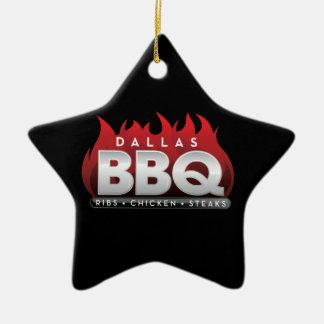 BBQ van Dallas het Ornament van de Ster