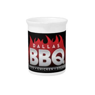 BBQ van Dallas Waterkruik Drink Pitcher