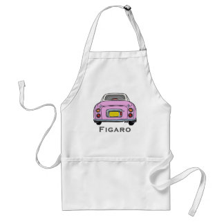 BBQ van de Auto van Nissan Figaro van het snoep Standaard Schort