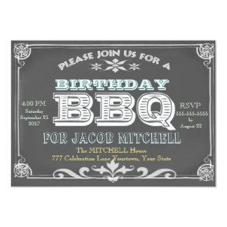 BBQ van de Partij van de verjaardag Uitnodigingen