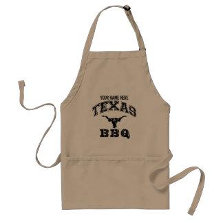 BBQ van Texas Longhorns Schort | personaliseert