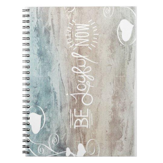 Be joyful notitieblok notitieboek