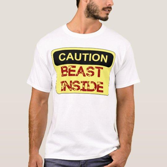 beast inside t shirt