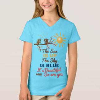 Beatles - Beste Voorzichtigheid - The Sun is T Shirt