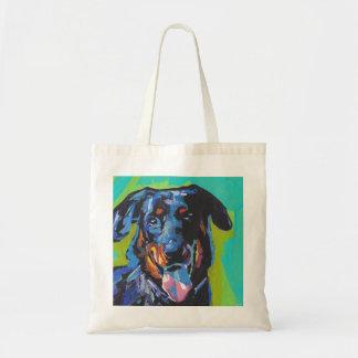beauceron het Pop-art van de Hond Draagtas