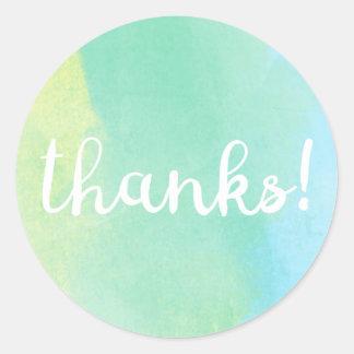 Bedankt! Sticker