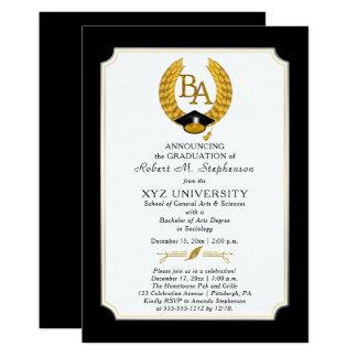 BEDELAARS - de Afstuderen van de Universiteit van 12,7x17,8 Uitnodiging Kaart