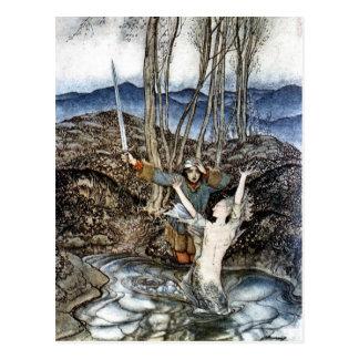 Bediende Colvill en het Briefkaart van de Meermin