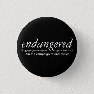 bedreigd door papscalleconceptart ronde button 3,2 cm
