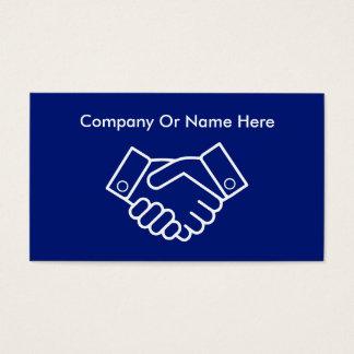 Bedrijfs Handdruk Visitekaartjes