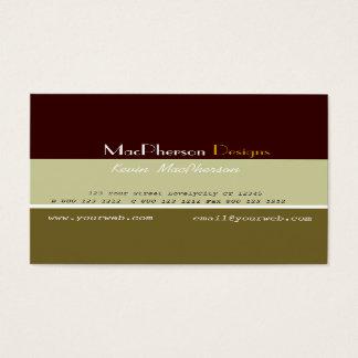 Bedrijfs Mannelijke Ontwerper Visitekaartjes